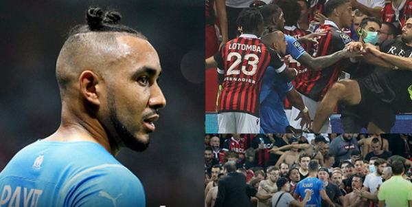 """""""Nice vs Marseille"""", fans groped to attack players"""