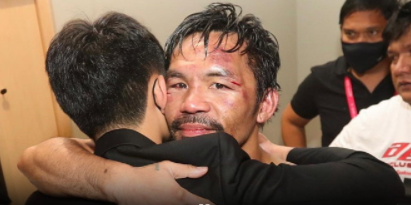 """""""Pacquiao"""" posted a message after losing to Ugas"""