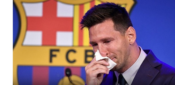 Messi announces retirement from Barcelona, ending his 21-year career